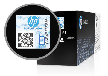 HP Original Black toner